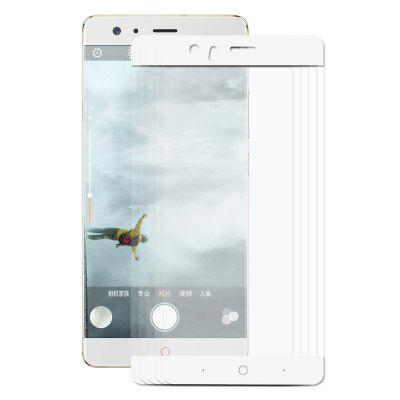 Hat - Prince Protective Film for ZTE nubia Z17 5pcsScreen Protectors<br>Hat - Prince Protective Film for ZTE nubia Z17 5pcs<br><br>Brand: Hat-Prince<br>Features: Ultra thin, Shock Proof, Protect Screen, High-definition, High Transparency, Anti-oil, Anti scratch, Anti fingerprint<br>Material: Tempered Glass<br>Package Contents: 5 x Tempered Glass, 5 x Dust Absorber, 5 x Cleaning Cloth, 5 x Alcohol Pad<br>Package size (L x W x H): 18.00 x 9.40 x 1.60 cm / 7.09 x 3.7 x 0.63 inches<br>Package weight: 0.1130 kg<br>Product weight: 0.0500 kg<br>Surface Hardness: 9H<br>Thickness: 0.26mm<br>Type: Screen Protector