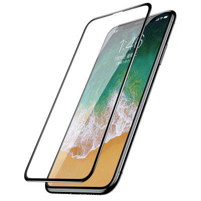 Baseus 9H Hardness Full Screen Protector for iPhone XIPhone Screen Protectors<br>Baseus 9H Hardness Full Screen Protector for iPhone X<br><br>Brand: Baseus<br>Compatible Phone Brand: Apple iPhone<br>Features: Protect Screen, High-definition, High sensitivity, Anti-oil, Anti scratch, Anti fingerprint<br>For: Cell Phone<br>Mainly Compatible with: iPhone X<br>Material: Tempered Glass<br>Package Contents: 1 x Tempered Glass<br>Package size (L x W x H): 17.30 x 10.10 x 1.00 cm / 6.81 x 3.98 x 0.39 inches<br>Package weight: 0.0400 kg<br>Product Size(L x W x H): 13.90 x 6.70 x 0.03 cm / 5.47 x 2.64 x 0.01 inches<br>Product weight: 0.0200 kg<br>Surface Hardness: 9H<br>Thickness: 0.3mm<br>Type: Protective Film, Screen Protector