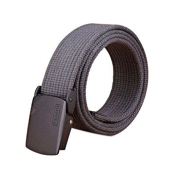 Male Thickened Trendy Tactical Training Canvas Belt