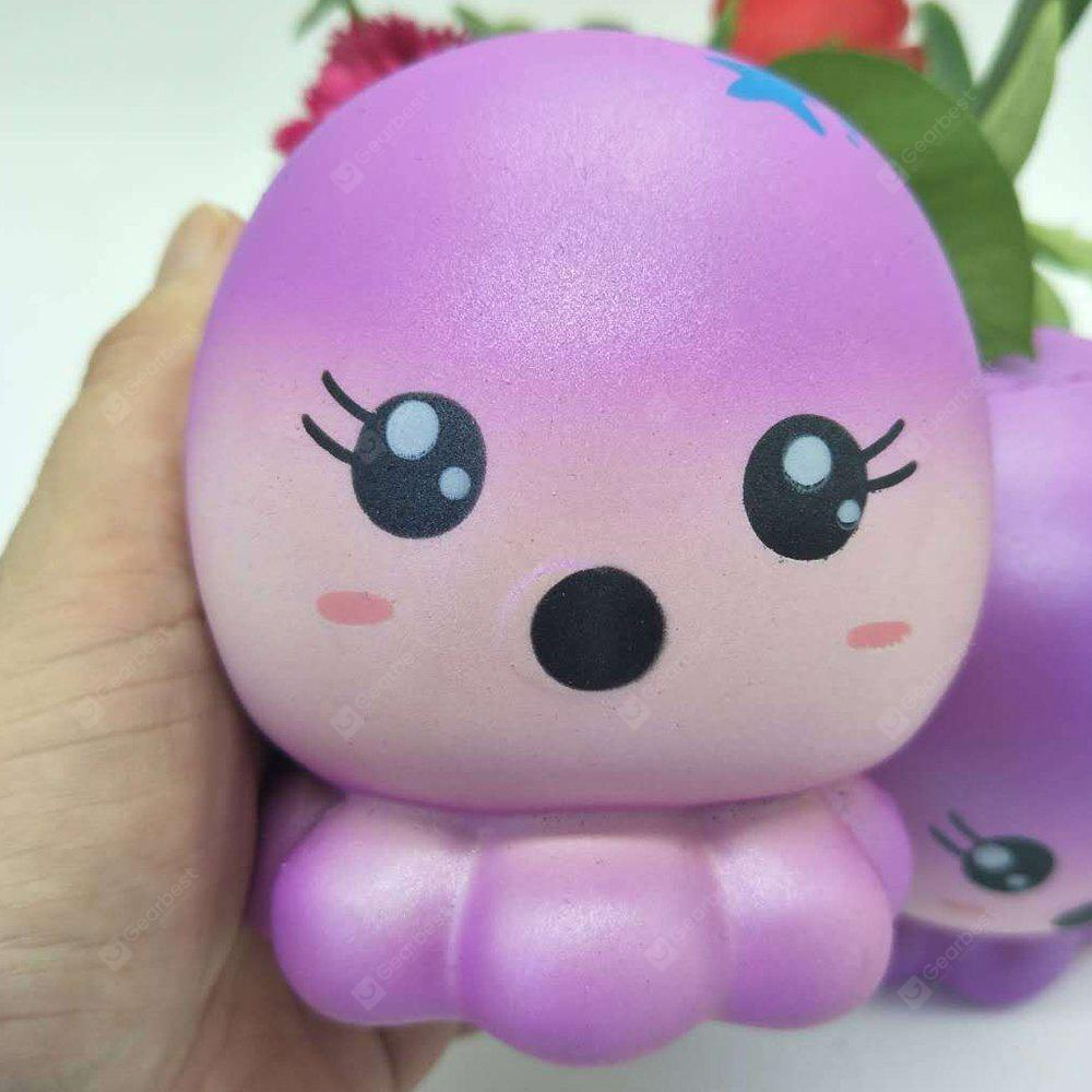 Jumbo Squishy Stress Relief Octopus PU Toy Decoration 1pc