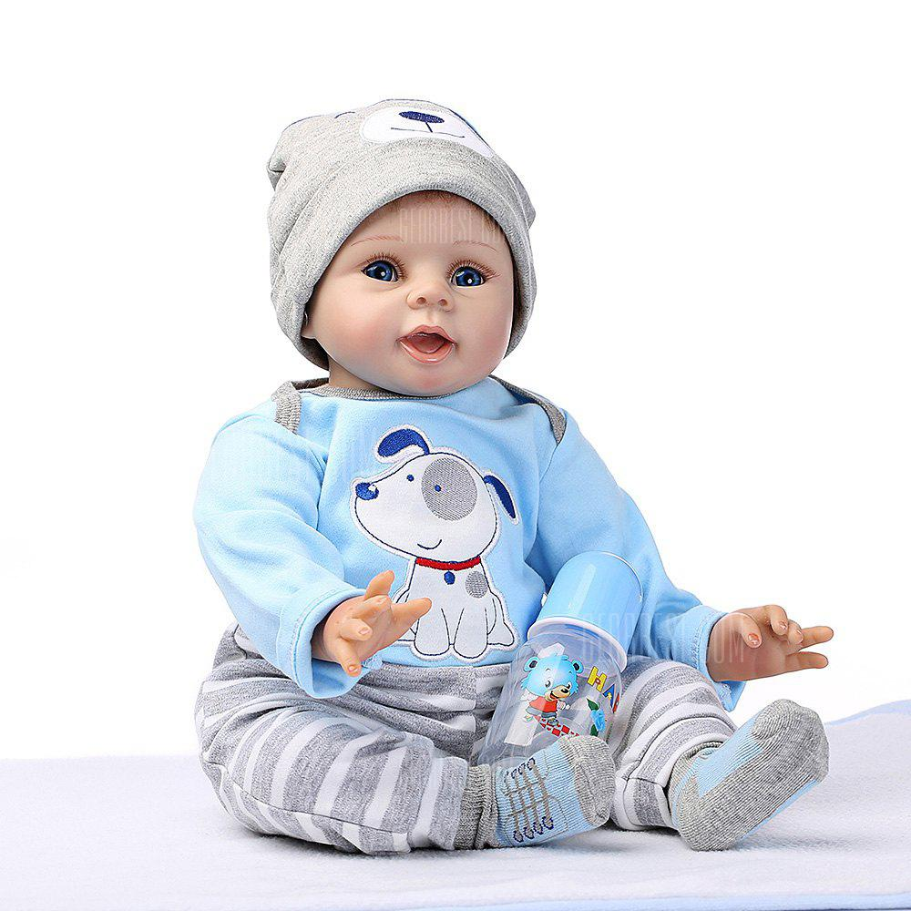 Soft Silicone Simulation Reborn Baby Doll Toy for Children