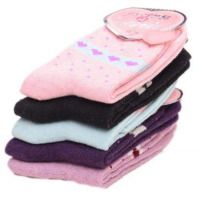 5 Paired Women Warm Cute Heart Design SocksWomens Socks &amp; Hosieries<br>5 Paired Women Warm Cute Heart Design Socks<br><br>Contents: 5 x Pair of Socks<br>Gender: Women<br>Package size (L x W x H): 24.00 x 4.00 x 8.00 cm / 9.45 x 1.57 x 3.15 inches<br>Package weight: 0.0210 kg<br>Product weight: 0.0200 kg<br>Style: Fashion<br>Type: Socks