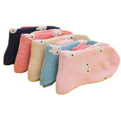 5 Paired Women Lovely Keep Warm Thicken SocksWomens Socks &amp; Hosieries<br>5 Paired Women Lovely Keep Warm Thicken Socks<br><br>Contents: 5 x Pair of Socks<br>Gender: Women<br>Package size (L x W x H): 24.00 x 4.00 x 8.00 cm / 9.45 x 1.57 x 3.15 inches<br>Package weight: 0.0210 kg<br>Product weight: 0.0200 kg<br>Style: Casual<br>Type: Socks