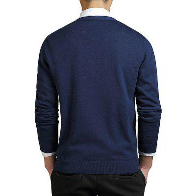 Men Fashion V-neck CardiganMens Sweaters &amp; Cardigans<br>Men Fashion V-neck Cardigan<br><br>Closure Type: Button<br>Package Contents: 1 x Cardigan<br>Package size: 35.00 x 25.00 x 2.00 cm / 13.78 x 9.84 x 0.79 inches<br>Package weight: 0.4300 kg<br>Pattern: Solid Color<br>Product weight: 0.4100 kg<br>Style: Brief<br>Thickness: Regular