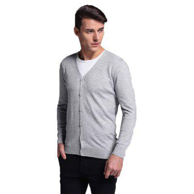 Classic Solid Color CardiganMens Sweaters &amp; Cardigans<br>Classic Solid Color Cardigan<br><br>Closure Type: Button<br>Material: Wool<br>Occasion: Casual<br>Package Contents: 1 x Cardigan<br>Package size: 35.00 x 25.00 x 2.00 cm / 13.78 x 9.84 x 0.79 inches<br>Package weight: 0.4700 kg<br>Product weight: 0.4500 kg