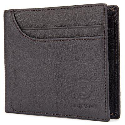 BULLCAPTAIN Business Genuine Leather Bifold WalletWallets<br>BULLCAPTAIN Business Genuine Leather Bifold Wallet<br><br>Brand: BULLCAPTAIN<br>Features: Wearable<br>For: Daily Use, Outdoor, Shopping<br>Gender: Men<br>Material: Genuine Leather<br>Package Size(L x W x H): 14.00 x 3.50 x 12.00 cm / 5.51 x 1.38 x 4.72 inches<br>Package weight: 0.1700 kg<br>Packing List: 1 x Wallet<br>Product Size(L x W x H): 12.00 x 1.50 x 10.00 cm / 4.72 x 0.59 x 3.94 inches<br>Product weight: 0.1500 kg<br>Style: Fashion, Business<br>Type: Wallet