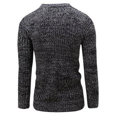 Simple Round Neck Knitting SweaterMens Sweaters &amp; Cardigans<br>Simple Round Neck Knitting Sweater<br><br>Material: Polyester<br>Occasion: Daily Use<br>Package Contents: 1 x Sweater<br>Package size: 35.00 x 25.00 x 2.00 cm / 13.78 x 9.84 x 0.79 inches<br>Package weight: 0.4200 kg<br>Product weight: 0.4000 kg