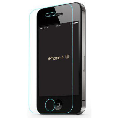 Explosion-proof Screen Protector for iPhone 4 / 4sIPhone Screen Protectors<br>Explosion-proof Screen Protector for iPhone 4 / 4s<br><br>Features: High-definition, Protect Screen, High sensitivity, Anti fingerprint, Anti scratch, Anti-oil<br>For: Cell Phone<br>Mainly Compatible with: iPhone 4S, iPhone 4<br>Material: Tempered Glass<br>Package Contents: 1 x Tempered Glass Film<br>Package size (L x W x H): 18.00 x 8.00 x 1.00 cm / 7.09 x 3.15 x 0.39 inches<br>Package weight: 0.0150 kg<br>Product weight: 0.0100 kg<br>Surface Hardness: 9H<br>Thickness: 0.26mm<br>Type: Screen Protector