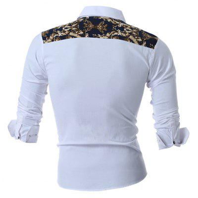 Men Stylish Retro Printed Long Sleeve ShirtMens Shirts<br>Men Stylish Retro Printed Long Sleeve Shirt<br><br>Closure Type: Button<br>Material: Cotton, Polyester<br>Package Contents: 1 x Shirt<br>Package size: 30.00 x 20.00 x 2.00 cm / 11.81 x 7.87 x 0.79 inches<br>Package weight: 0.2400 kg<br>Product weight: 0.2200 kg<br>Thickness: Regular