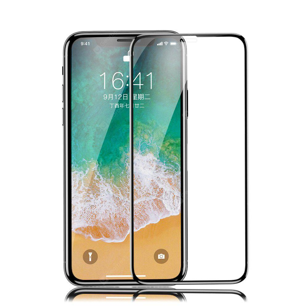 Baseus 3D Arc Edge Full Protective Film for iPhone X - $4.05 Free Shipping