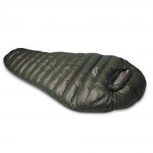 1 Person Sleeping Bag Soft Thick Mummy Style Splicing Design