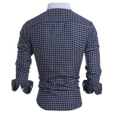 Men Leisure Plaid Long Sleeve Button Down ShirtMens Shirts<br>Men Leisure Plaid Long Sleeve Button Down Shirt<br><br>Closure Type: Button<br>Material: Cotton, Polyester<br>Package Contents: 1 x Shirt<br>Package size: 30.00 x 20.00 x 1.00 cm / 11.81 x 7.87 x 0.39 inches<br>Package weight: 0.2300 kg<br>Product weight: 0.2100 kg<br>Style: Casual, Classic
