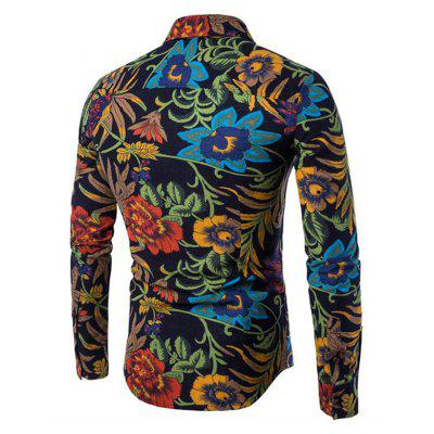 CTSmart Floral Printed Long Sleeve Button Down ShirtMens Shirts<br>CTSmart Floral Printed Long Sleeve Button Down Shirt<br><br>Brand: CTSmart<br>Closure Type: Button<br>Occasion: Casual<br>Package Contents: 1 x Shirt<br>Package size: 26.00 x 20.00 x 1.00 cm / 10.24 x 7.87 x 0.39 inches<br>Package weight: 0.4700 kg<br>Product weight: 0.4500 kg<br>Thickness: Regular