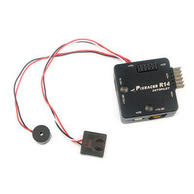 Mini Pixracer R14 Autopilot Xracer PX4 Flight ControlFlight Controller<br>Mini Pixracer R14 Autopilot Xracer PX4 Flight Control<br><br>Package Contents: 1 x Flight Controller, 1 x Protective Shell, 1 x Wifi Module, 1 x Switcher, 1 x Buzzer, 1 x SD Card, 1 x SD Card Reader, 1 x Cable Set<br>Package size (L x W x H): 6.00 x 6.00 x 2.50 cm / 2.36 x 2.36 x 0.98 inches<br>Package weight: 0.0400 kg<br>Product size (L x W x H): 4.00 x 4.00 x 1.00 cm / 1.57 x 1.57 x 0.39 inches<br>Product weight: 0.0260 kg<br>Type: Flight Controller Set