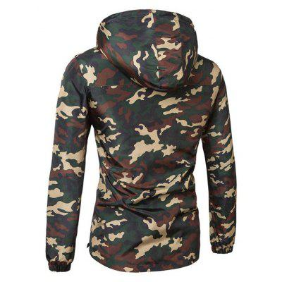 CTSmart Trendy Camouflage Long Sleeve Hoodie JacketMens Jackets &amp; Coats<br>CTSmart Trendy Camouflage Long Sleeve Hoodie Jacket<br><br>Brand: CTSmart<br>Closure Type: Zipper<br>Clothes Type: Jackets<br>Collar: Hooded<br>Embellishment: Printing<br>Materials: Cotton<br>Occasion: Daily Use, Going Out, Party<br>Package Content: 1 x Hoodie Jacket<br>Package Dimension: 40.00 x 30.00 x 1.00 cm / 15.75 x 11.81 x 0.39 inches<br>Package weight: 0.6500 kg<br>Pattern Type: Others<br>Product weight: 0.5800 kg<br>Seasons: Autumn,Spring<br>Shirt Length: Regular<br>Sleeve Length: Long Sleeves<br>Style: Fashion, Casual<br>Thickness: Medium thickness