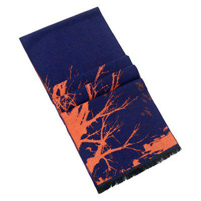Male Trendy Creative Motif ScarfMens Scarves<br>Male Trendy Creative Motif Scarf<br><br>Group: Adult<br>Material: Imitated Silk Fabric<br>Package Contents: 1 x Scarf<br>Package size (L x W x H): 26.00 x 18.00 x 6.00 cm / 10.24 x 7.09 x 2.36 inches<br>Package weight: 0.1450 kg<br>Product weight: 0.1400 kg<br>Scarf Length: Above 175CM<br>Scarf Type: Scarf<br>Scarf Width (CM): 30cm<br>Season: Fall, Winter<br>Style: Fashion