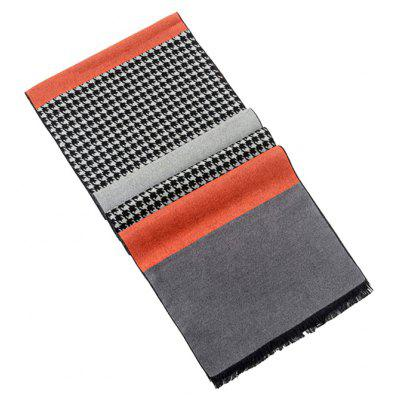 Male Soft Keep Warm Plaid Pattern ScarfMens Scarves<br>Male Soft Keep Warm Plaid Pattern Scarf<br><br>Group: Adult<br>Material: Imitated Silk Fabric<br>Package Contents: 1 x Scarf<br>Package size (L x W x H): 26.00 x 16.00 x 6.00 cm / 10.24 x 6.3 x 2.36 inches<br>Package weight: 0.1450 kg<br>Product weight: 0.1400 kg<br>Scarf Length: Above 175CM<br>Scarf Type: Scarf<br>Scarf Width (CM): 30cm<br>Season: Fall, Winter<br>Style: Fashion