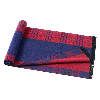 Male Casual Soft Keep Warm Plaid Pattern ScarfMens Scarves<br>Male Casual Soft Keep Warm Plaid Pattern Scarf<br><br>Group: Adult<br>Material: Acrylic<br>Package Contents: 1 x Scarf<br>Package size (L x W x H): 26.00 x 19.00 x 5.00 cm / 10.24 x 7.48 x 1.97 inches<br>Package weight: 0.1450 kg<br>Product weight: 0.1400 kg<br>Scarf Length: Above 175CM<br>Scarf Type: Scarf<br>Scarf Width (CM): 30cm<br>Season: Winter, Fall<br>Style: Casual, Fashion