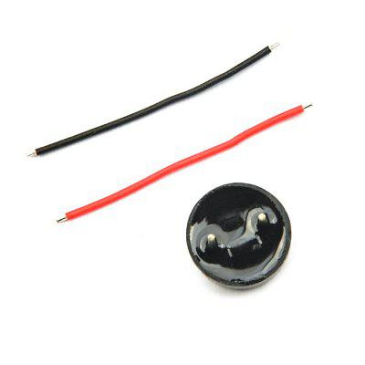 NAZE32 F3 F3 - EVO Mini BuzzerMulti Rotor Parts<br>NAZE32 F3 F3 - EVO Mini Buzzer<br><br>Package Contents: 1 x Buzzer, 2 x Cable<br>Package size (L x W x H): 4.00 x 3.00 x 3.00 cm / 1.57 x 1.18 x 1.18 inches<br>Package weight: 0.0050 kg<br>Product size (L x W x H): 2.00 x 1.50 x 1.50 cm / 0.79 x 0.59 x 0.59 inches<br>Product weight: 0.0020 kg<br>Type: Buzzer
