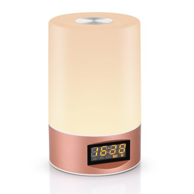 Utorch Wake Up Light Touch Sensor Clock LED Bedside Lamp будильник philips hf3520 01 wake up light