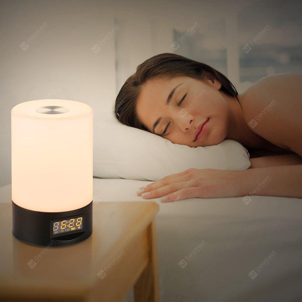 Utorch STL 02 Wake Up Light Touch Sensor Clock LED Bedside Lamp