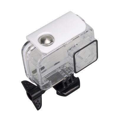 Action Camera Waterproof Case for YI Lite / 4K / 4K PlusAction Cameras &amp; Sport DV Accessories<br>Action Camera Waterproof Case for YI Lite / 4K / 4K Plus<br><br>Accessory type: Protective Cases/Housing<br>Apply to Brand: YI<br>Material: Acrylic<br>Package Contents: 1 x Waterproof Case, 1 x Thumbscrew, 1 x Mount Kit<br>Package size (L x W x H): 18.00 x 12.00 x 5.00 cm / 7.09 x 4.72 x 1.97 inches<br>Package weight: 0.1050 kg<br>Product size (L x W x H): 8.00 x 8.00 x 4.00 cm / 3.15 x 3.15 x 1.57 inches<br>Product weight: 0.0850 kg<br>Waterproof: Yes