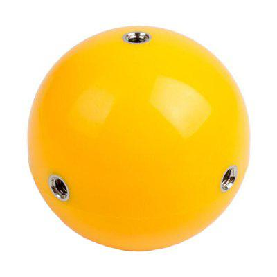 Multi-functional Floating Ball for GoPro Action CameraAction Cameras &amp; Sport DV Accessories<br>Multi-functional Floating Ball for GoPro Action Camera<br><br>Accessory type: Floaty Bobber<br>Apply to Brand: Gopro<br>Material: ABS<br>Package Contents: 1 x Floating Bobber Ball, 1 x Tripod Mount Adapter, 1 x Wrist Strap, 1 x Screw<br>Package size (L x W x H): 12.00 x 9.00 x 8.00 cm / 4.72 x 3.54 x 3.15 inches<br>Package weight: 0.0880 kg<br>Product size (L x W x H): 11.00 x 8.00 x 7.70 cm / 4.33 x 3.15 x 3.03 inches<br>Product weight: 0.0565 kg