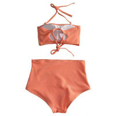 Halter Bandeau Two-piece Swimsuits BikiniWomens Swimwear<br>Halter Bandeau Two-piece Swimsuits Bikini<br><br>Gender: For Women<br>Material: Spandex, Cotton<br>Neckline: Bandeau Collar,Halter<br>Package Contents: 1 x Swimsuits<br>Package size: 22.00 x 15.00 x 6.00 cm / 8.66 x 5.91 x 2.36 inches<br>Package weight: 0.1700 kg<br>Pattern Type: Solid<br>Product weight: 0.1500 kg<br>Style: Sexy<br>Swimwear Type: Two-Pieces Separate