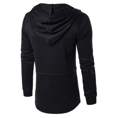 CTSmart Trendy Solid Color Long Sleeve Hoodie JacketMens Jackets &amp; Coats<br>CTSmart Trendy Solid Color Long Sleeve Hoodie Jacket<br><br>Brand: CTSmart<br>Closure Type: String<br>Clothes Type: Jackets<br>Collar: Hooded<br>Embellishment: Others<br>Materials: Cotton, Polyester<br>Occasion: Daily Use, Going Out<br>Package Content: 1 x Hoodie Jacket<br>Package Dimension: 26.00 x 20.00 x 1.00 cm / 10.24 x 7.87 x 0.39 inches<br>Package weight: 0.5000 kg<br>Pattern Type: Solid<br>Product weight: 0.4500 kg<br>Seasons: Autumn,Spring<br>Shirt Length: Regular<br>Sleeve Length: Long Sleeves<br>Style: Fashion, Casual<br>Thickness: Medium thickness