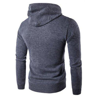 Stylish Hooded Sweater JacketMens Sweaters &amp; Cardigans<br>Stylish Hooded Sweater Jacket<br><br>Material: Cotton Blends, Polyester<br>Occasion: Casual<br>Package Contents: 1 x Sweater Jacket<br>Package size: 35.00 x 25.00 x 2.00 cm / 13.78 x 9.84 x 0.79 inches<br>Package weight: 0.5200 kg<br>Product weight: 0.5000 kg