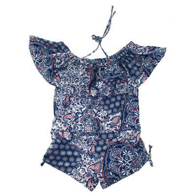 Floral Off Shoulder Flounce Boxers Two-piece SwimsuitsWomens Swimwear<br>Floral Off Shoulder Flounce Boxers Two-piece Swimsuits<br><br>Embellishment: Strappy<br>Gender: For Women<br>Material: Polyester, Spandex<br>Neckline: Strapless<br>Package Contents: 1 x Swimsuits<br>Package size: 22.00 x 15.00 x 6.00 cm / 8.66 x 5.91 x 2.36 inches<br>Package weight: 0.2200 kg<br>Pattern Type: Floral<br>Product weight: 0.2000 kg<br>Swimwear Type: Two-Pieces Separate