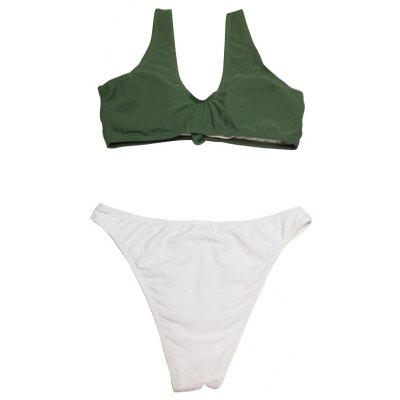 Two-piece Strap Bowknot T-back Swimsuits BikiniWomens Swimwear<br>Two-piece Strap Bowknot T-back Swimsuits Bikini<br><br>Gender: For Women<br>Material: Spandex, Nylon<br>Neckline: Straps<br>Package Contents: 1 x Swimsuits<br>Package size: 20.00 x 15.00 x 6.00 cm / 7.87 x 5.91 x 2.36 inches<br>Package weight: 0.1400 kg<br>Pattern Type: Solid<br>Product weight: 0.1200 kg<br>Style: Sexy<br>Swimwear Type: Two-Pieces Separate