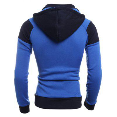 Men Trendy Splicing Long Sleeve Hoodie JacketMens Hoodies &amp; Sweatshirts<br>Men Trendy Splicing Long Sleeve Hoodie Jacket<br><br>Closure Type: Zipper<br>Clothes Type: Hoodie<br>Material: Cotton, Polyester<br>Occasion: Casual<br>Package Contents: 1 x Hoodie<br>Package size: 30.00 x 20.00 x 2.00 cm / 11.81 x 7.87 x 0.79 inches<br>Package weight: 0.4500 kg<br>Product weight: 0.4300 kg