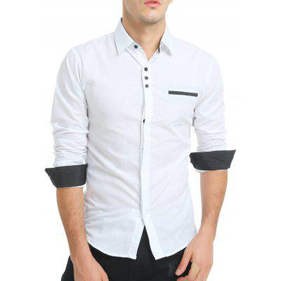 Men Business Plaid Long Sleeve Button Down ShirtMens Shirts<br>Men Business Plaid Long Sleeve Button Down Shirt<br><br>Closure Type: Button<br>Material: Cotton, Polyester<br>Package Contents: 1 x Shirt<br>Package size: 30.00 x 20.00 x 1.00 cm / 11.81 x 7.87 x 0.39 inches<br>Package weight: 0.2400 kg<br>Product weight: 0.2200 kg<br>Style: Casual, Classic