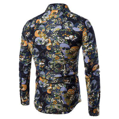 CTSmart Retro Floral Motifs Long Sleeves ShirtMens Shirts<br>CTSmart Retro Floral Motifs Long Sleeves Shirt<br><br>Brand: CTSmart<br>Closure Type: Button<br>Material: Cotton, Linen<br>Occasion: Casual<br>Package Contents: 1 x Shirt<br>Package size: 26.00 x 20.00 x 1.00 cm / 10.24 x 7.87 x 0.39 inches<br>Package weight: 0.4700 kg<br>Product weight: 0.4500 kg<br>Thickness: Regular