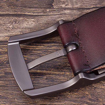 Male Retro Genuine Leather Waist Belt with Pin BuckleMens Belts<br>Male Retro Genuine Leather Waist Belt with Pin Buckle<br><br>Package Size(L x W x H): 10.00 x 4.00 x 10.00 cm / 3.94 x 1.57 x 3.94 inches<br>Package weight: 0.2200 kg<br>Packing List: 1 x Belt<br>Product weight: 0.2000 kg