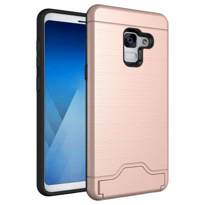Contracted Stand Cover for Samsung Galaxy A8 2018