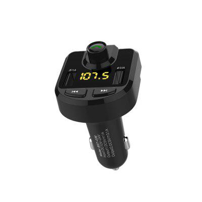 BST - 036 Dual USB Bluetooth Reproductor de MP3 Cargador de Coche