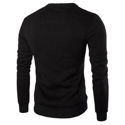 CTSmart Splicing SweatshirtMens Hoodies &amp; Sweatshirts<br>CTSmart Splicing Sweatshirt<br><br>Brand: CTSmart<br>Material: Cotton, Polyester<br>Occasion: Casual<br>Package Contents: 1 x Sweatshirt<br>Package size: 40.00 x 30.00 x 1.00 cm / 15.75 x 11.81 x 0.39 inches<br>Package weight: 0.4900 kg<br>Pattern: Solid Color<br>Product weight: 0.4500 kg<br>Thickness: Regular