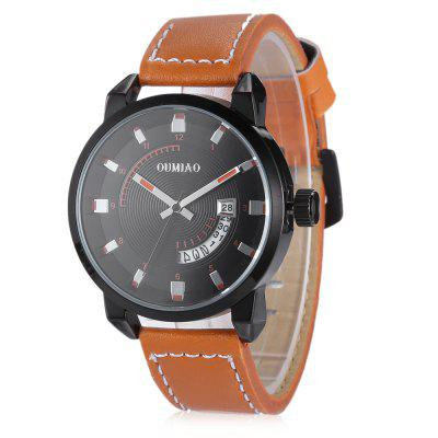 OUMIAO 8019 Leather Band Men Quartz WatchMens Watches<br>OUMIAO 8019 Leather Band Men Quartz Watch<br><br>Band material: Leather<br>Band size: 19.5 x 2cm<br>Brand: OUMIAO<br>Case material: Alloy<br>Clasp type: Pin buckle<br>Dial size: 4.2 x 4.2 x 1cm<br>Display type: Analog<br>Movement type: Quartz watch<br>Package Contents: 1 x Watch<br>Package size (L x W x H): 21.50 x 6.20 x 3.00 cm / 8.46 x 2.44 x 1.18 inches<br>Package weight: 0.0550 kg<br>Product size (L x W x H): 19.50 x 4.20 x 1.00 cm / 7.68 x 1.65 x 0.39 inches<br>Product weight: 0.0510 kg<br>Shape of the dial: Round<br>Watch mirror: Mineral glass<br>Watch style: Fashion<br>Watches categories: Men<br>Wearable length: 19 - 23cm