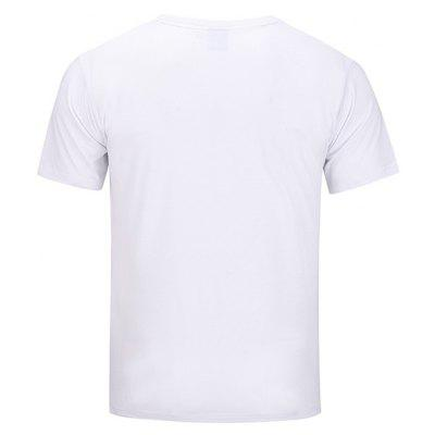 Mr 1991 INC Miss Go Cool Man Motif T-shirtMens Short Sleeve Tees<br>Mr 1991 INC Miss Go Cool Man Motif T-shirt<br><br>Brand: Mr.1991INC&amp;Miss.Go<br>Material: Polyester, Spandex<br>Neckline: Round Neck<br>Package Content: 1 x T-shirt<br>Package size: 38.00 x 30.00 x 1.00 cm / 14.96 x 11.81 x 0.39 inches<br>Package weight: 0.2200 kg<br>Product weight: 0.2000 kg<br>Season: Summer<br>Sleeve Length: Short Sleeves<br>Style: Casual