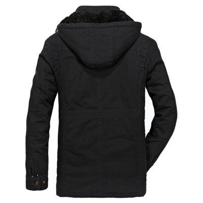 CTSmart Casual JacketMens Jackets &amp; Coats<br>CTSmart Casual Jacket<br><br>Brand: CTSmart<br>Closure Type: Zipper<br>Clothes Type: Jackets<br>Collar: Hooded<br>Embellishment: Others<br>Materials: Cotton<br>Occasion: Daily Use<br>Package Content: 1 x Jacket<br>Package Dimension: 40.00 x 30.00 x 1.00 cm / 15.75 x 11.81 x 0.39 inches<br>Package weight: 0.8410 kg<br>Pattern Type: Others<br>Product weight: 0.8100 kg<br>Seasons: Winter<br>Shirt Length: Regular<br>Sleeve Length: Long Sleeves<br>Style: Casual<br>Thickness: Medium thickness