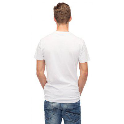 Mr 1991 INC Miss Go Creative Fox Motif T-shirtMens Short Sleeve Tees<br>Mr 1991 INC Miss Go Creative Fox Motif T-shirt<br><br>Brand: Mr.1991INC&amp;Miss.Go<br>Material: Cotton<br>Neckline: Round Neck<br>Package Content: 1 x T-shirt<br>Package size: 38.00 x 30.00 x 1.00 cm / 14.96 x 11.81 x 0.39 inches<br>Package weight: 0.2200 kg<br>Product weight: 0.2000 kg<br>Season: Summer<br>Sleeve Length: Short Sleeves<br>Style: Casual