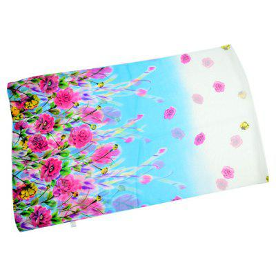Graceful Skin-friendly Flower Print Chiffon ScarfWomens Scarves<br>Graceful Skin-friendly Flower Print Chiffon Scarf<br><br>Material: Chiffon<br>Package Content: 1 x Scarf<br>Package Dimension: 30.00 x 40.00 x 2.00 cm / 11.81 x 15.75 x 0.79 inches<br>Package weight: 0.0500 kg<br>Product weight: 0.0450 kg<br>Scarf Length: 155cm<br>Scarf Width (CM): 50cm<br>Season: Winter, Spring, Fall<br>Style: Formal, Fashion, Casual