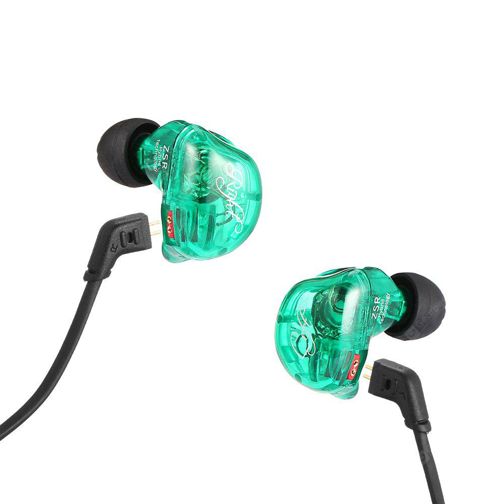 Kz Zsr Hybrid Hifi Earphones 2122 Free Shipping Kabel Bluetooth Module Knowledge Zenith Zs3 Zs5 Zs6 Zst