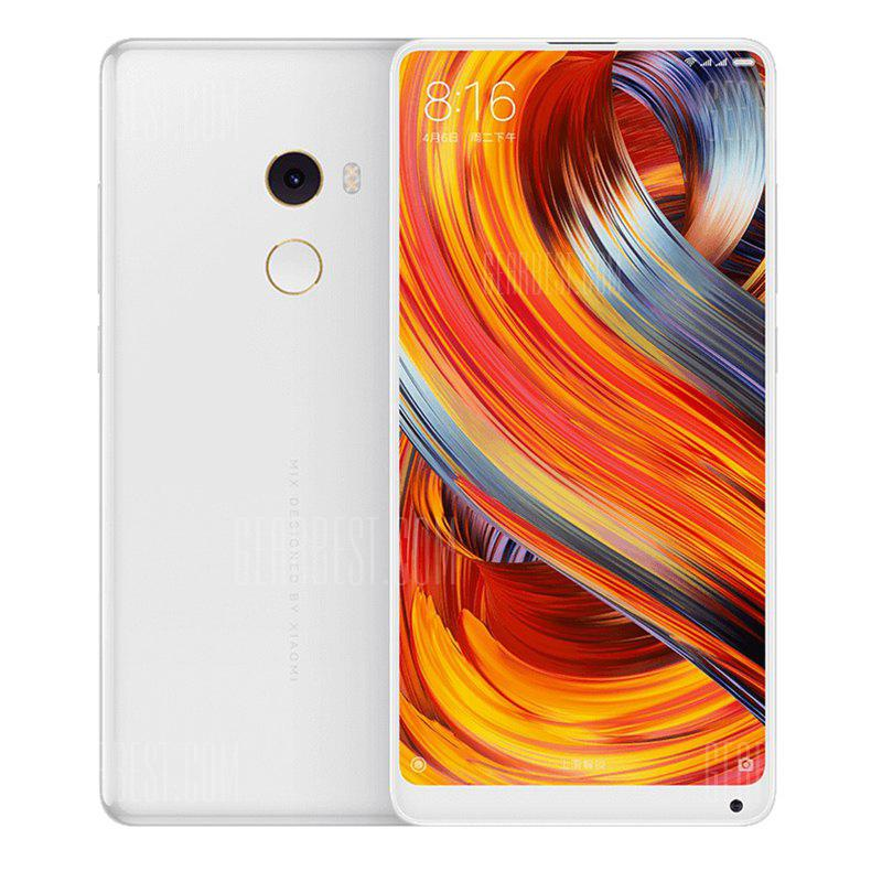 Xiaomi Mi MIX 2 4G Phablet Full Ceramic Unibody - WHITE GLOBAL VERSION 2 8+128 EU