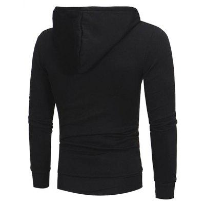 CTSmart Men Fashion Slim Fit HoodieMens Hoodies &amp; Sweatshirts<br>CTSmart Men Fashion Slim Fit Hoodie<br><br>Brand: CTSmart<br>Clothes Type: Hoodie<br>Material: Cotton, Polyester<br>Package Contents: 1 x Hoodie<br>Package size: 26.00 x 20.00 x 1.00 cm / 10.24 x 7.87 x 0.39 inches<br>Package weight: 0.5000 kg<br>Product weight: 0.4500 kg<br>Thickness: Regular