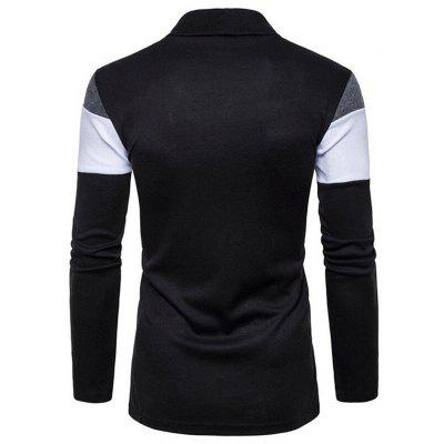 CTSmart Men Stylish Heaps Collar Knitting CardiganMens Sweaters &amp; Cardigans<br>CTSmart Men Stylish Heaps Collar Knitting Cardigan<br><br>Brand: CTSmart<br>Material: Cotton, Polyester<br>Occasion: Casual<br>Package Contents: 1 x Knitting Cardigan<br>Package size: 26.00 x 20.00 x 1.00 cm / 10.24 x 7.87 x 0.39 inches<br>Package weight: 0.2200 kg<br>Product weight: 0.2000 kg<br>Thickness: Regular