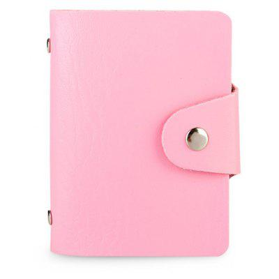 DUDINI Stylish Business PU Card Holder