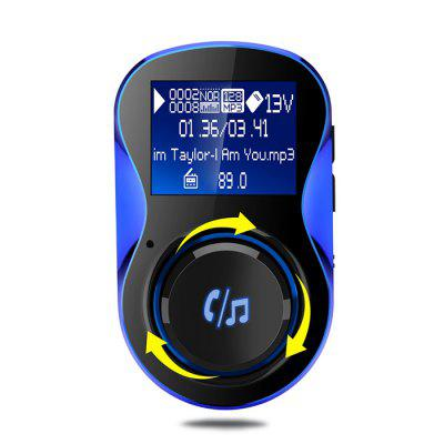 BC28 Wireless Bluetooth Dual USB Car Charger